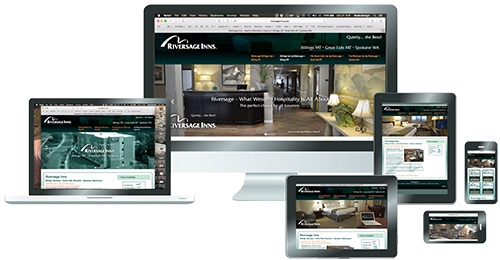Responsive Website for Riversage Inns